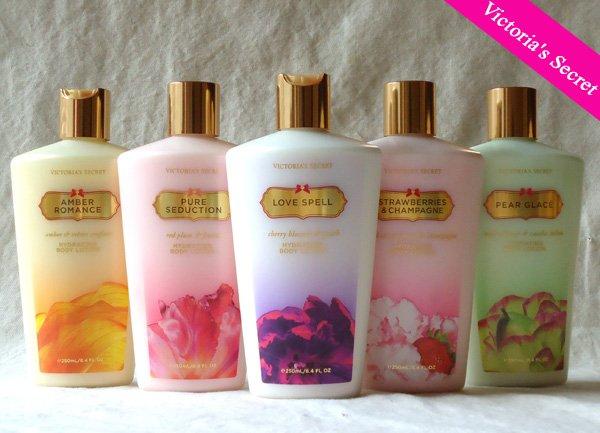 Victoria's Secret Body lotion 5 bottles set