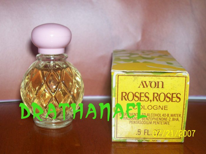 New AVON ROSES ROSES Mini Fragrance Cologne