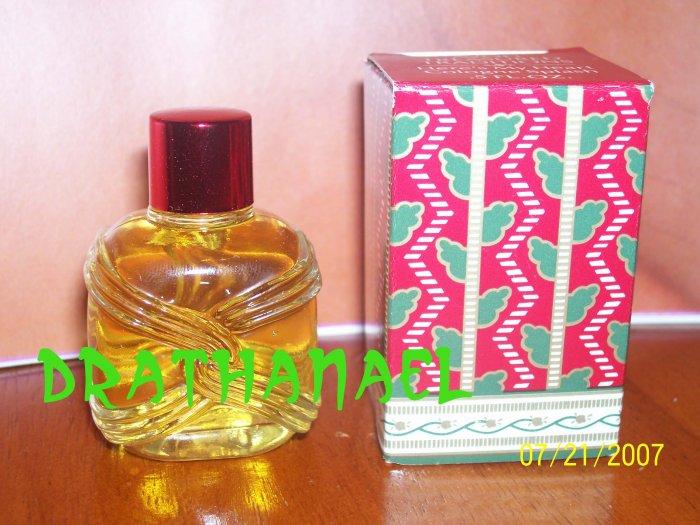 3 New AVON HERE's MY HEART Mini Cologne Fragrance 1989