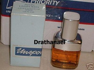 New AVON UNSPOKEN Ultra Cologne Spray Fragrance