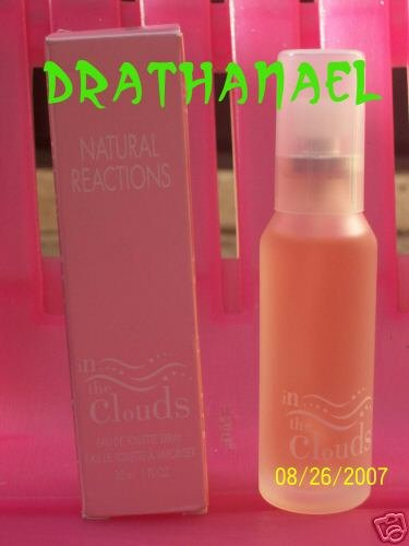 New AVON In The Clouds NATURAL REACTIONS Toilette Spray 1999