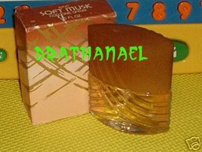 New AVON SOFT MUSK Cologne Spray Fragrance 1982