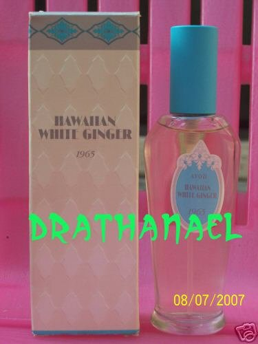 New AVON HAWAIIAN WHITE GINGER Cologne Spray 1996