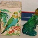 AVON CHARISMA Cologne Fragrance Island Parakeet Bird 1977