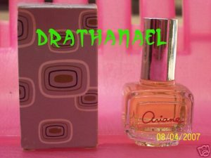 New AVON ARIANE Mini Cologne Fragrance Splash 1981