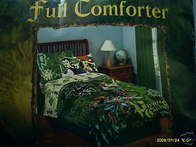 New Disney Pirates of the Caribbean FULL COMFORTER