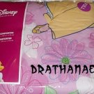 New DISNEY PRINCESSES FULL COMFORTER Princess Flower