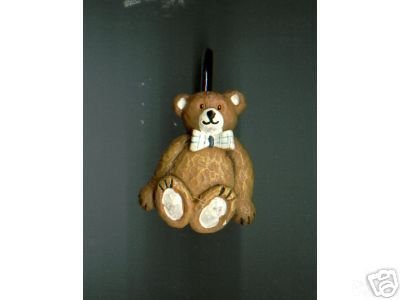 12 pieces TEDDY BEAR Shower Curtain Hooks - NEW