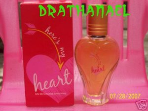 New AVON HERE's MY HEART Fragrance Cologne Spray