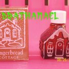 New AVON CHARISMA Cologne Fragrance Gingerbread Cottage