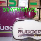 New AVON RUGGER Fragrance AFTER SHAVE SOOTHER 1981