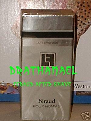 New AVON FERAUD Pour Homme Men Fragrance AFTER SHAVE 1984