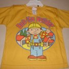 New BOB THE BUILDER SHIRT Tops Construction 2T 2 Yellow