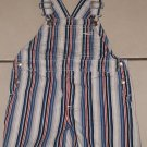 GYMBOREE Kick It SHORTALLS Bibs Small 2T 3T Stripes