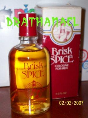 New AVON BRISK SPICE Cologne Men Fragrance Pour 1987