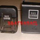 New AVON BLACK LEATHER Men Cologne Spray Fragrance 1999