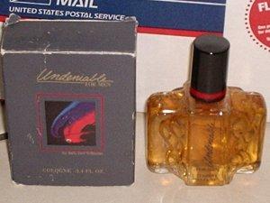 New AVON UNDENIABLE Men Cologne Fragrance Pour 1991