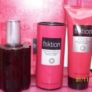 New AVON FRIKTION Cologne Spray TALC After SHAVE Set 2000