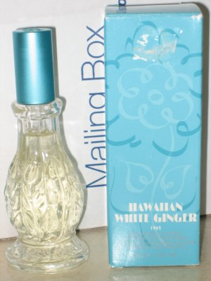 New AVON HAWAIIAN WHITE GINGER Cologne Spray 2001