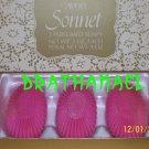 New AVON SONNET Fragrance Perfume 3 SOAP Bars Soaps