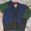 GYMBOREE SWEATER Small 2T 3T 2 3 Train Expedition PRE-OWNED