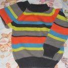 GYMBOREE SWEATER Stripes Sz 5 Thin Air PRE-OWNED