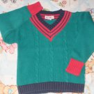 GYMBOREE SWEATER Large L 4 5 4T 5T Green USED