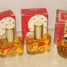 3 New AVON LAHANA Cologne Fragrance Heart Valentine Lot