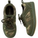 New GYMBOREE SHOES Size 2 Extreme Animal Sneakers Camo Big Boys Laces