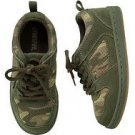 New GYMBOREE SHOES Size 13 Extreme Animal Sneakers Camo Big Boys Laces