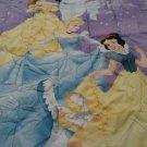 New DISNEY PRINCESSES TWIN Reversible Comforter Jasmine Cinderella Snow White