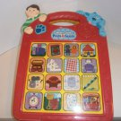 USED BLUE'S CLUES Blues Electronic Talking Game Learning PRESS & GUESS Toy 1998
