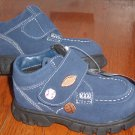 New CARTER's SHOES Sz 10 M Boots Blue Toddler Boys Suede