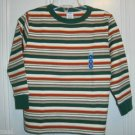 New GYMBOREE Sz 4 SHIRT Tops Stripes Green Grizzly Peak and Vintage Ski