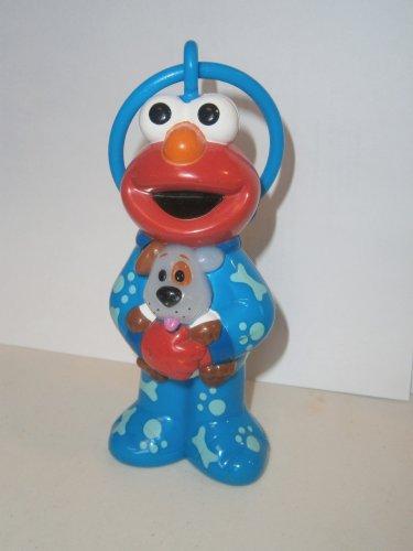 USED Sesame Street ELMO Dog Musical Sleep Night Music 2001 Toy Bedtime Mattel