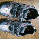 New STRIDE RITE SHOES Sneakers Boys Size 2M 2 M Superball V H&L Red Gray