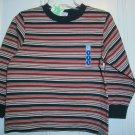 New GYMBOREE Red Baron Stripes Sz 4 SHIRT TOPs Long Sleeves Boy