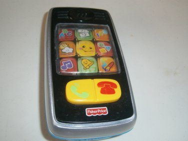 USED FISHER PRICE Smilin' Smart Phone Laugh & Learn Baby Toy