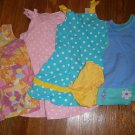 Used 4 Gymboree The Children's Place TCP Dress Polka Dots Flowers 3T 4T Lot