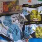 3 NEW SHREK THE THIRD UNDERWEAR Briefs Sz 8 Boys Donkey