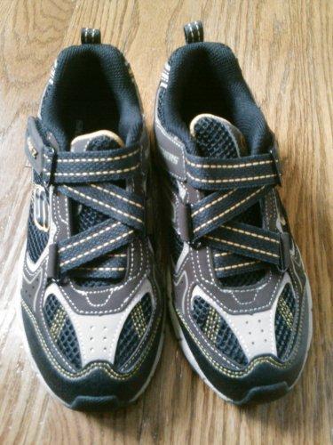 New SKECHERS SHOES Sneakers Boys Size 2 Grenadier
