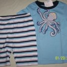 New GYMBOREE Summer Rodeo OCTOPUS Pajamas PJs 5 Gymmies