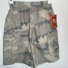New FADED GLORY Originals SHORTS CAMO Camouflage Cargo Boys Size 5