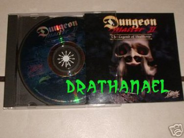 Used DUNGEON MASTER II 2 The Legend of Skullkeep PC Game