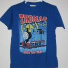 New Thomas the Train Tank Engine SHIRT Size 4T Blue Boy Clock