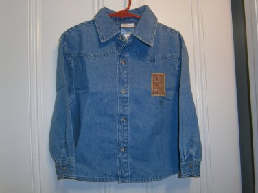 New DISNEY STORE WOODY Polo Shirt Tops Jeans size 3 4 Cowboy Boy