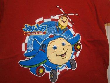 New JAY JAY THE JET PLANE SHIRT Tops Red Boy Jayjay Savannah Size 3T