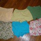 Used 6 Gymboree Shorts Skorts Flowers Camo Eyelet Size 3T Girl Green Lot