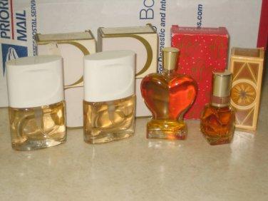 4 New AVON TIMELESS MINI Cologne Spray Splash Lot