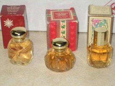3 New AVON SOFT MUSK Cologne Fragrance Mini Lot Women